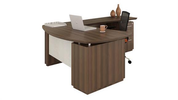 """L Shaped Desks Mayline Office Furniture 66"""" L Shaped Desk"""