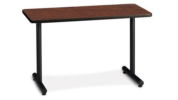 "Training Tables Mayline Office Furniture 72"" x 18"" Training Table Starter"