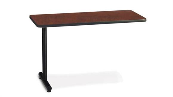"Training Tables Mayline Office Furniture 48"" x 18"" Training Table Adder"