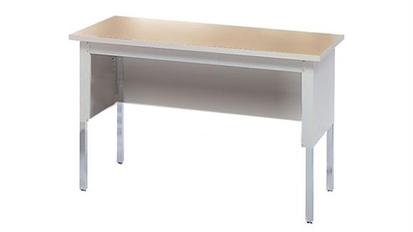 """General Tables Mayline Office Furniture 48""""W Adjustable Height Work Table"""