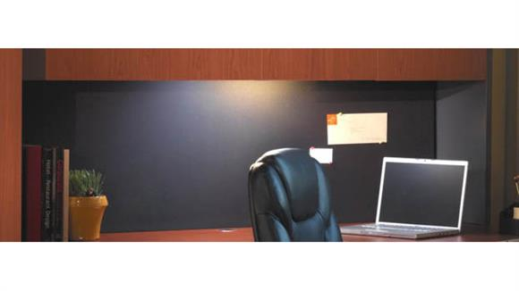 "Hutches Mayline Office Furniture 72"" Hutch Tack Panel"