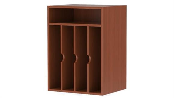 Magazine & Literature Storage Mayline Office Furniture Vertical Paper Management