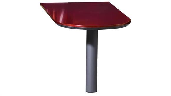 Desk Parts & Accessories Mayline Office Furniture Peninsula Desk