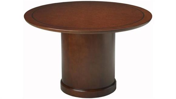 "Conference Tables Mayline Office Furniture 48"" Round Conference Table"