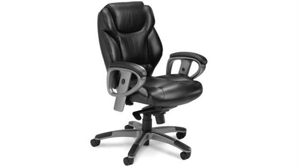 Office Chairs Mayline Office Furniture Mid Back Leather Chair