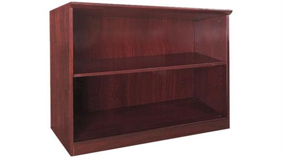 Bookcases Mayline Office Furniture 2 Shelf Bookcase
