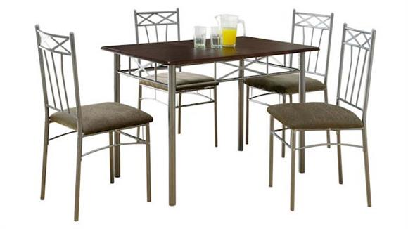 Dining Tables & Sets Monarch 5 Piece Dining Set