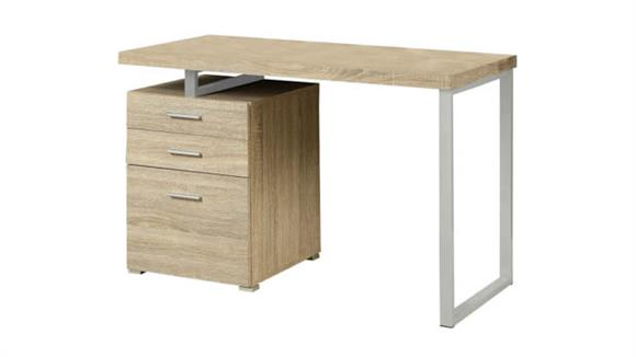 Compact Desks Monarch Single Pedestal Compact Desk