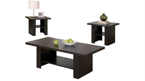 Occasional Tables Monarch 3 Piece Occasional Table Set