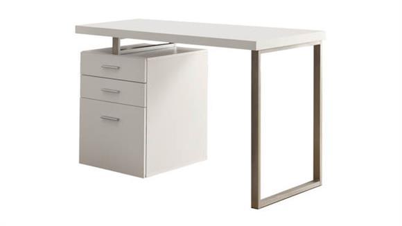Compact Desks Monarch Single Pedestal Compact Desk