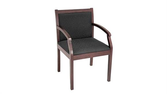 Side & Guest Chairs Marquis Wood Guest Chair with Arms