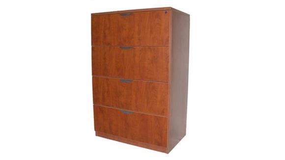 File Cabinets Lateral Marquis 4 Drawer Lateral File