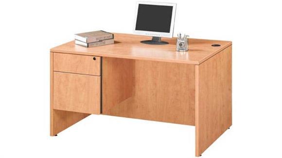 """Compact Desks Marquis 47"""" Single Pedestal Desk"""