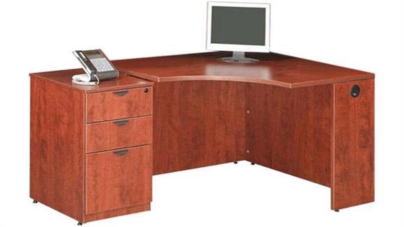 Corner Desks Marquis Corner Desk with File