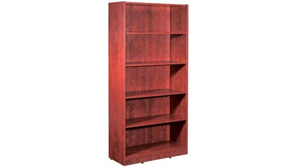 contemporary donie bookcase chicago furniture red bookcases