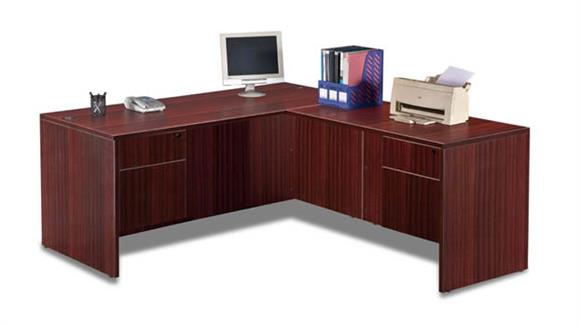 "L Shaped Desks Marquis 66"" x 77"" L Shaped Desk"