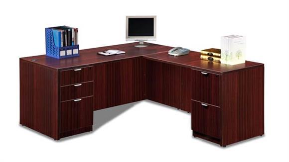 """L Shaped Desks Marquis 66"""" x 77"""" L Shaped Desk"""