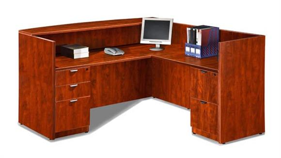 Reception Desks Marquis L Shaped Reception Desk