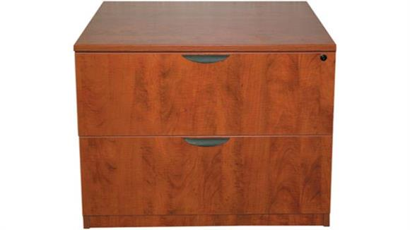 File Cabinets Marquis 2 Drawer Lateral File with Hutch
