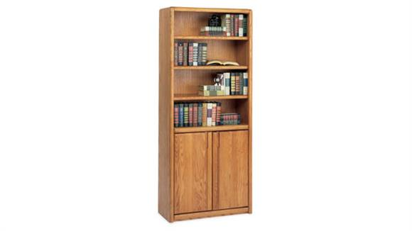 """Bookcases Martin Furniture 70""""H Bookcase with Lower Doors"""