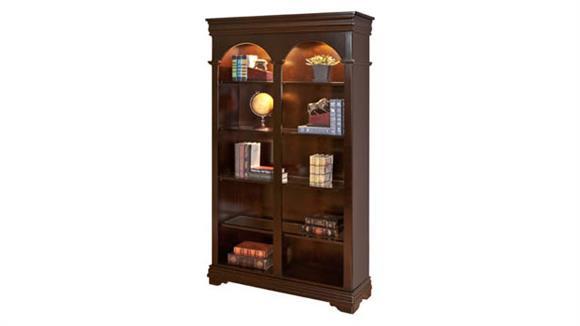 """Bookcases Martin Furniture 78""""H x 46""""W Double Open Bookcase"""