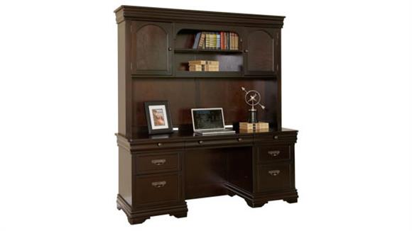 Office Credenzas Martin Furniture Credenza with Hutch