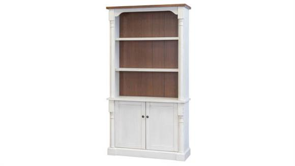"Bookcases Martin Furniture 78""H Bookcase with Lower Doors"