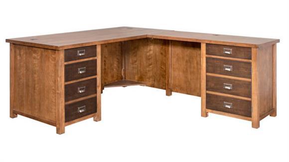 L Shaped Desks Martin Furniture L-Shaped Desk
