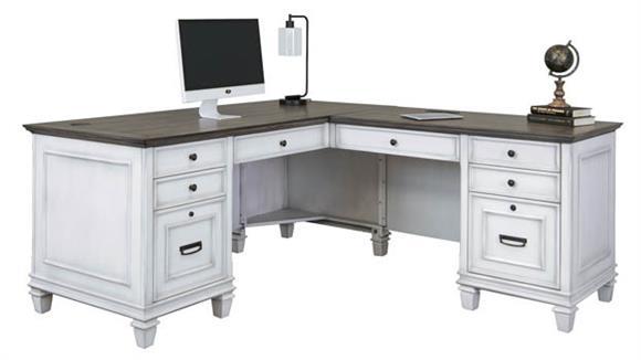 "L Shaped Desks Martin Furniture 70""W Right Hand Facing L-Shaped Desk"