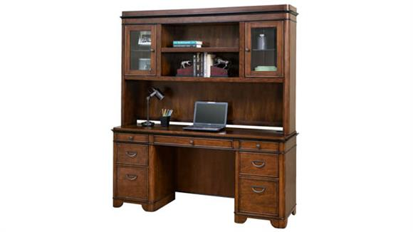 Office Credenzas Martin Furniture Credenza with Hutch