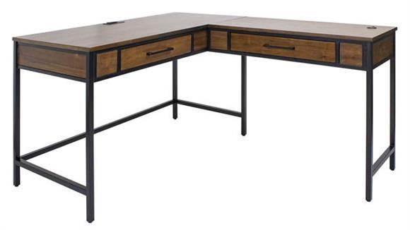 L Shaped Desks Martin Furniture L-Shaped Writing Desk