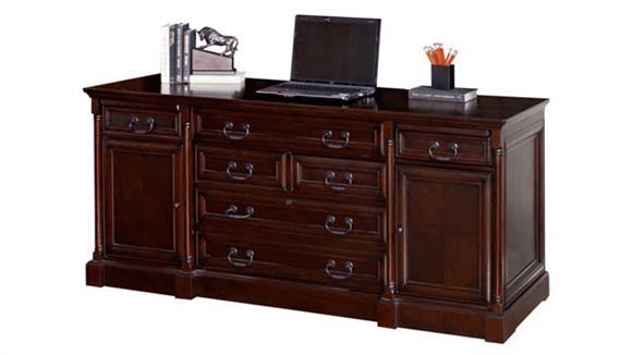 "Office Credenzas Martin Furniture 72"" Computer Credenza"