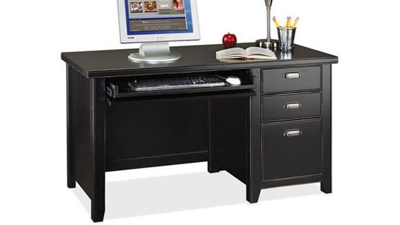 Computer Desks Martin Furniture Single Pedestal Desk