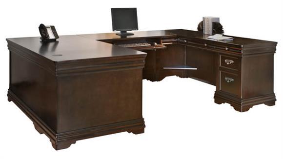 U Shaped Desks Martin Furniture U-Shaped Desk