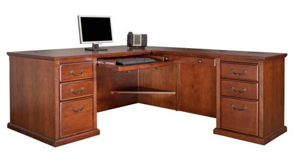 L Shaped Desks Martin Furniture Right Hand Facing L-Shaped Desk