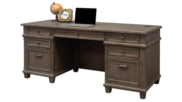 "Executive Desks Martin Furniture 72"" Executive Desk"