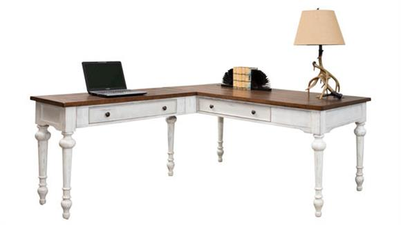 L Shaped Desks Martin Furniture L-Shaped Writing Desk