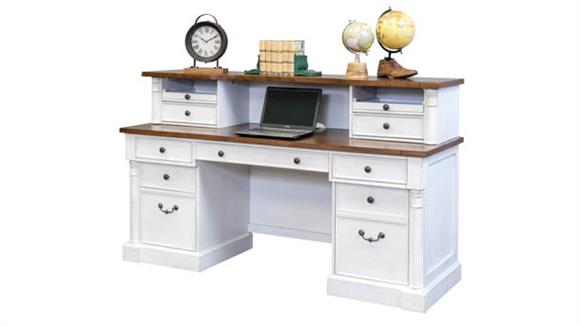 "Office Credenzas Martin Furniture 70"" Credenza with Low Hutch"