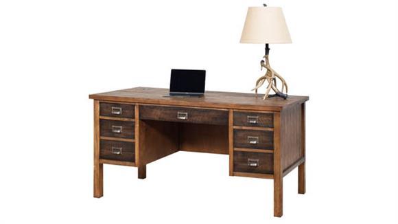 "Executive Desks Martin Furniture 60""W Half Pedestal Desk"
