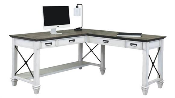 "L Shaped Desks Martin Furniture 60""W Right Hand Facing Open L-Shaped Desk"
