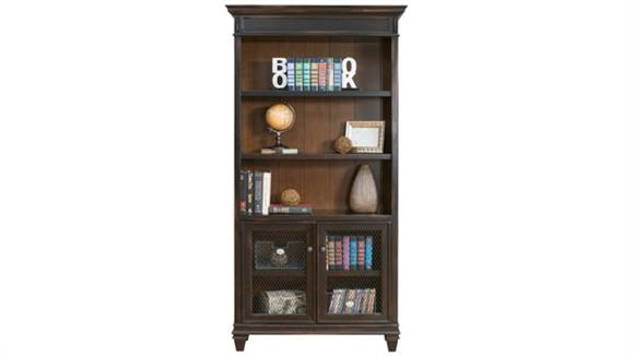 "Bookcases Martin Furniture 78""H x 40""W Bookcase with Lower Doors"
