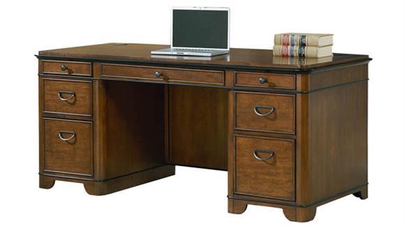 Executive Desks Martin Furniture Double Pedestal Desk