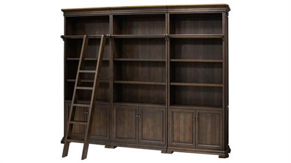 "Office Accessories Martin Furniture 75""H Tall Wood Ladder"