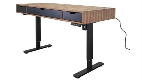 Adjustable Height Desks & Tables Martin Furniture Electric Sit / Stand Desk