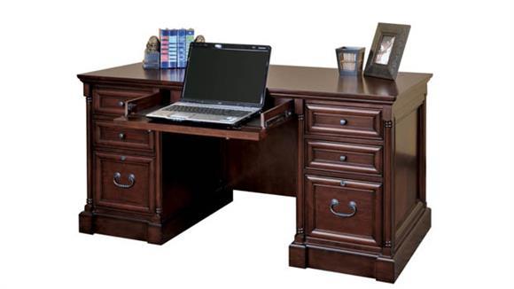 Executive Desks Martin Furniture Efficiency Double Pedestal Desk