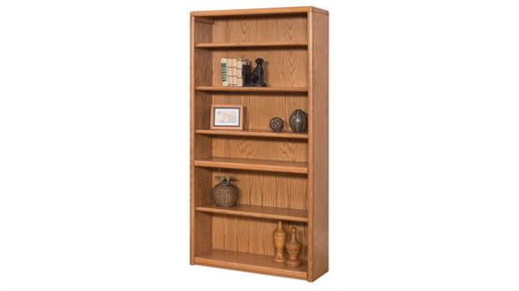 "Bookcases Martin Furniture 70""H Bookcase with 6 Shelves"