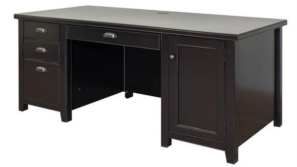 Computer Desks Martin Furniture Double Pedestal Computer Desk