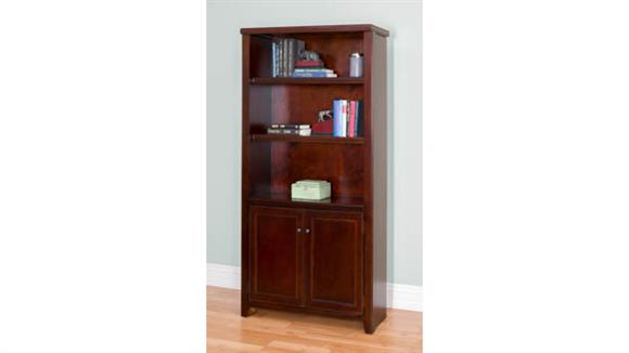 "Bookcases Martin Furniture 70""H x 36""W Lower Door Bookcase"