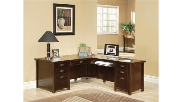 L Shaped Desks Martin Furniture Right Hand Facing L-Shaped Desk