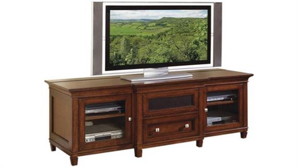 TV Stands Martin Furniture Cherry Flat Panel TV Console
